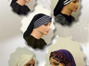 Knotted Twisted Headband Turban Snood New PDF Sewing Pattern