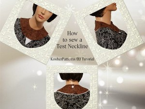 How to Sew a Test Neckline Tutorial