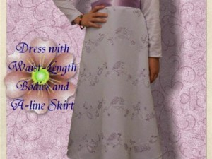 How to Create a Beautiful Dress out of  a Simple Dress Pattern