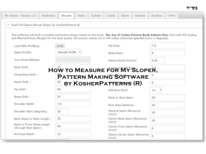 How to Measure for My Sloper