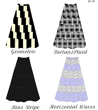 Tiered Skirt Fabric Ideas