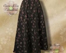 Aline Embroidered Skirt