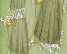 A-line Elastic Skirt