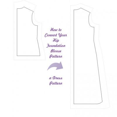 KosherPatterns Blouse to Dress Cover