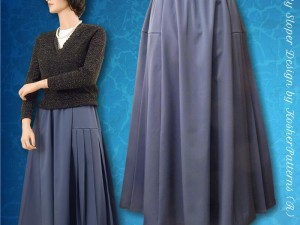 My Sloper 1.8 Preview Four-Paneled Side-Pleated Skirt