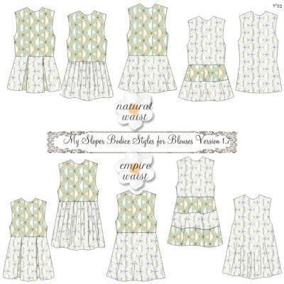 My Sloper Blouse Styles 1.71