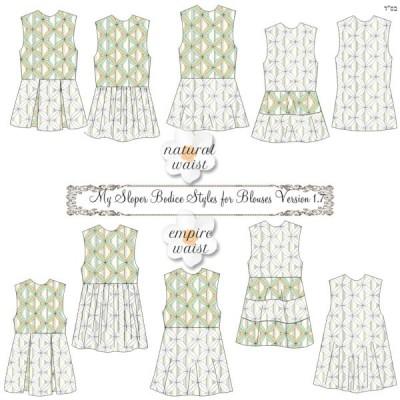 My Sloper Blouse Styles 1.71