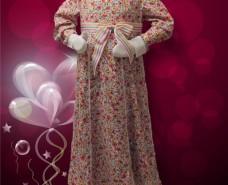 Empire-waist Dress
