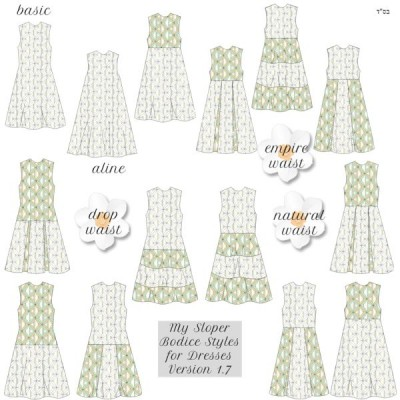 My Sloper Dress Styles 1.71