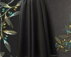 8-panelled Trumpet Skirt
