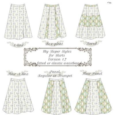 My Sloper Skirt Styles 1.71