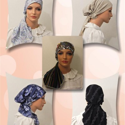 Uni Tail Pre-tied Bandanna Snood 01