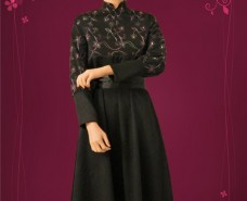 Victorian-style Empire-waist dress