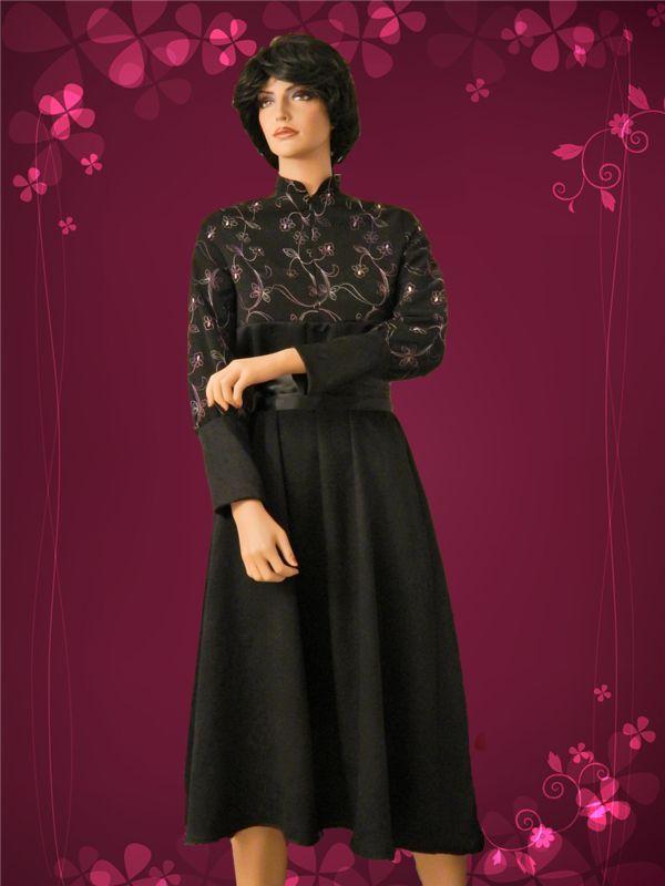 Victorian-style Empire-waist dress