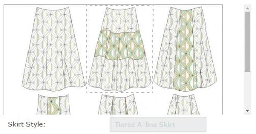 tiered-aline-skirt