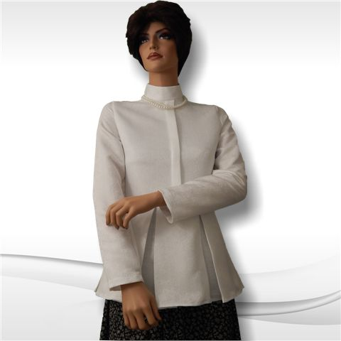 Box-Pleated Blouse