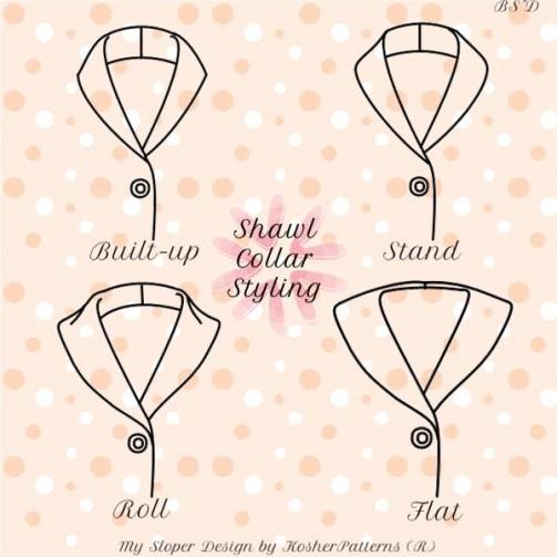 My Sloper 1.8 Shawl Collar Styling