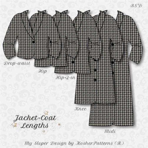 My Sloper 1.8 Jacket-Coat Lengths