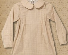 Peter Pan Pleated Blouse 01