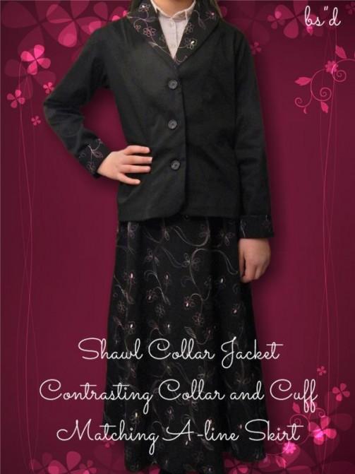 Shawl Collar Jacket 01
