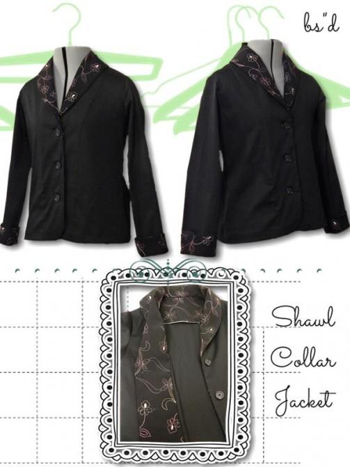 Shawl Collar Jacket 04