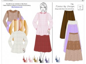 Kosher Tznius Dress-up Game
