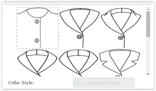 No or Separate Collar