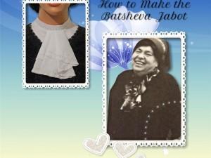 How to Sew the Batsheva Jabot