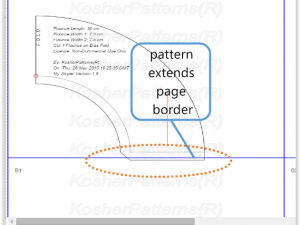 How to Draw Pattern Using Landscape or Portrait Page Orientation
