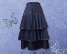 Layered Tiered Skirt