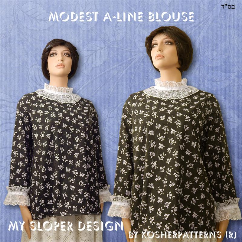 Modest A-line Blouse