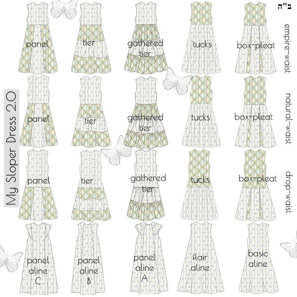 Tznius Dresses Pattern Making Software Modesty