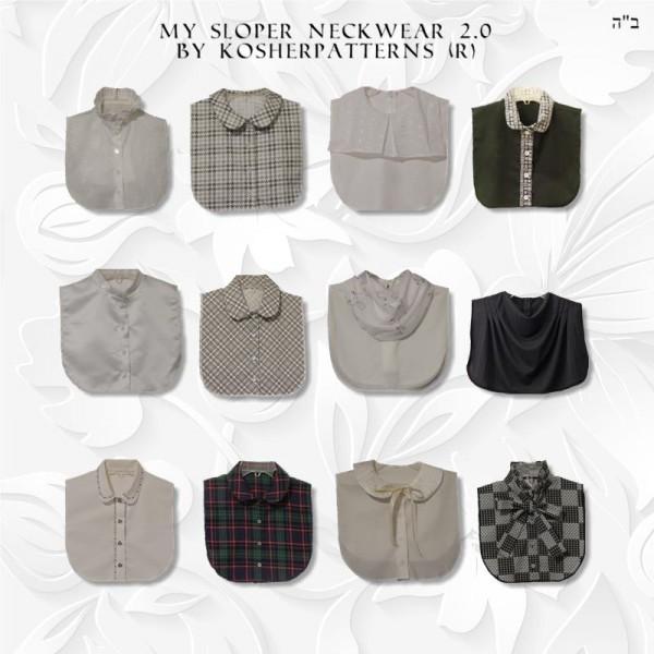 collar sewing pattern