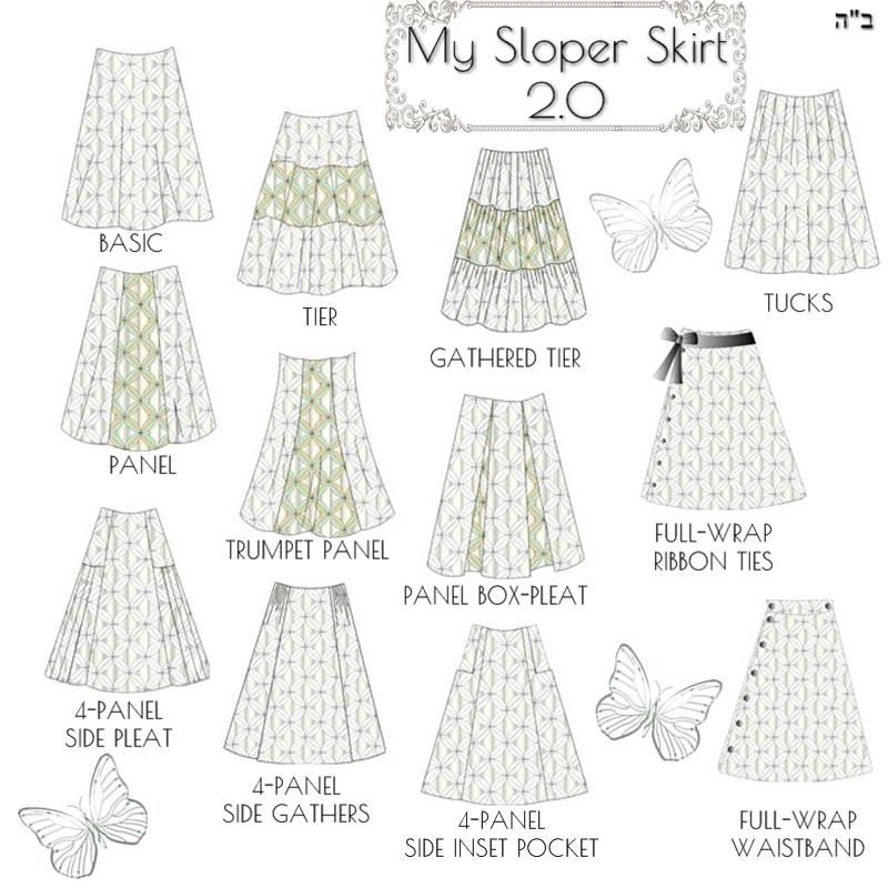 Modest Skirt Pattern Making Software