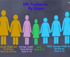XMLProfiles Size Charts Girls and Women