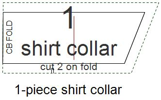 Traditional Full-roll Collar Pattern
