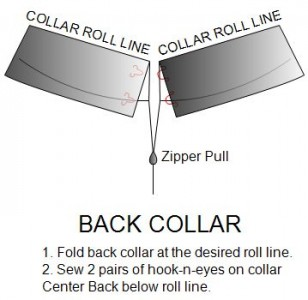 Add hooks-and-eyes to roll collar