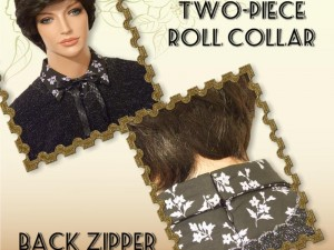 Two-piece Roll Collar Tutorial
