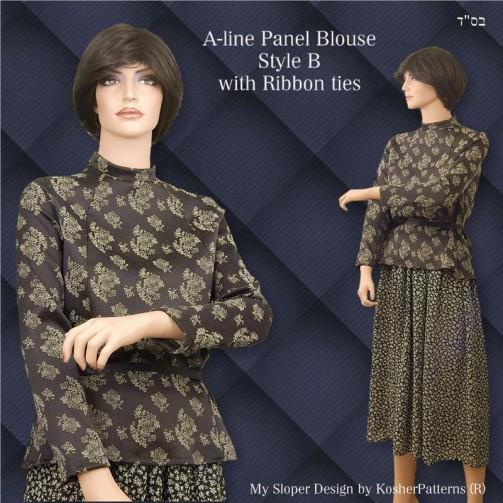 Aline Blouse Style 2B Model 03