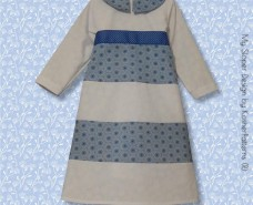 Tiered A-line Baby Dress