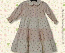 Gathered Tiers Baby Dress