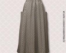 Four-Panel Side-Inset Pocket Skirt