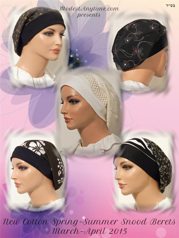 March 2015 Snood Berets