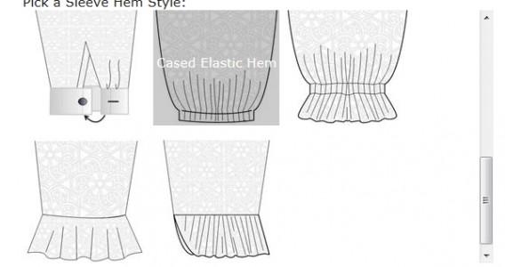 4 New Sleeve Hem Styles