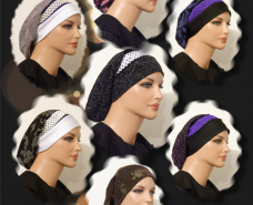Snood Berets Braided Elastic Trims 20141