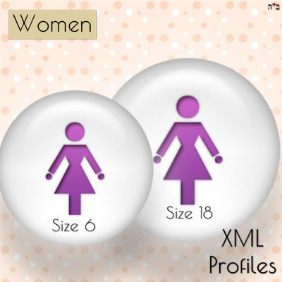 Size Charts for Petite, Average and Tall Women