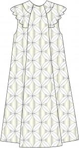 Panel A-line Dress Style A