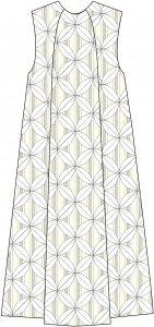 Panel A-line Dress Style B
