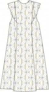 Panel A-line Dress Style C