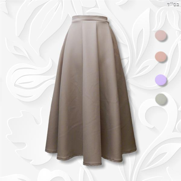 10-Panel Fitted Aline Skirt